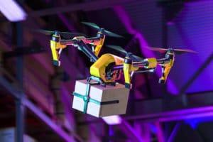 drone-entrega-varejo-distanciamento-social