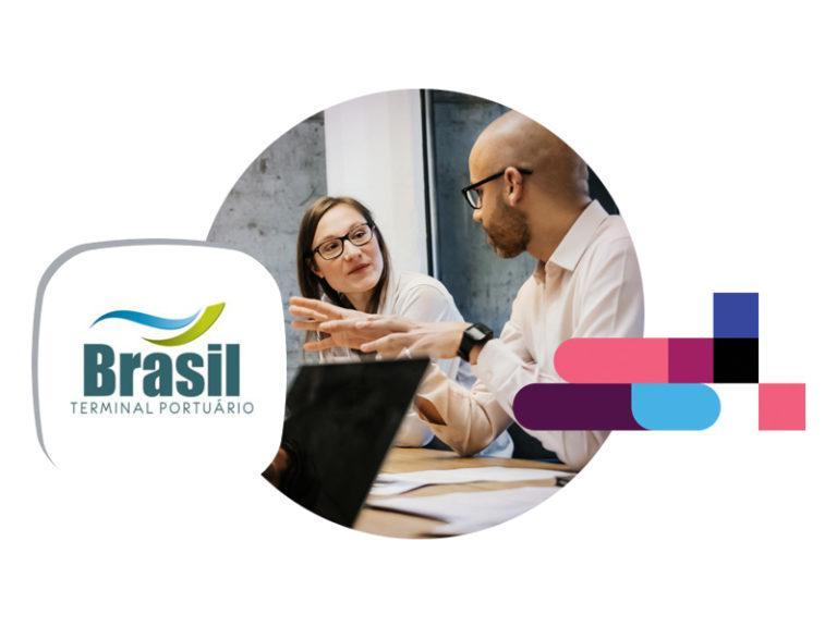 Brasil terminal portuário case imaginedone